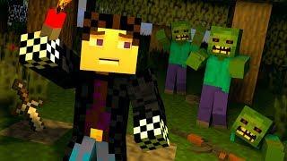 ☢️В ПОИСКАХ НОЧЛЕГА! [ДЕНЬ 2] ЗОМБИ АПОКАЛИПСИС В МАЙНКРАФТ! - (Minecraft - Сериал)