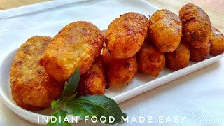 Potato Nuggets Recipe in Hindi by Indian Food Made Easy