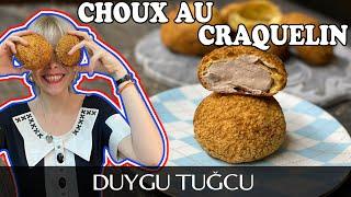 Choux au Craquelin Tarifi 🍘   MUTFAKLARINIZDA PASTANE USULU FRANSIZ TATLISI 🍘   Chef Duygu Tugcu