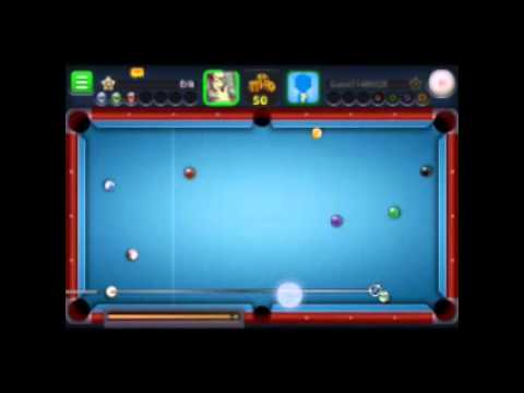 Gameplay do 8 ball pool
