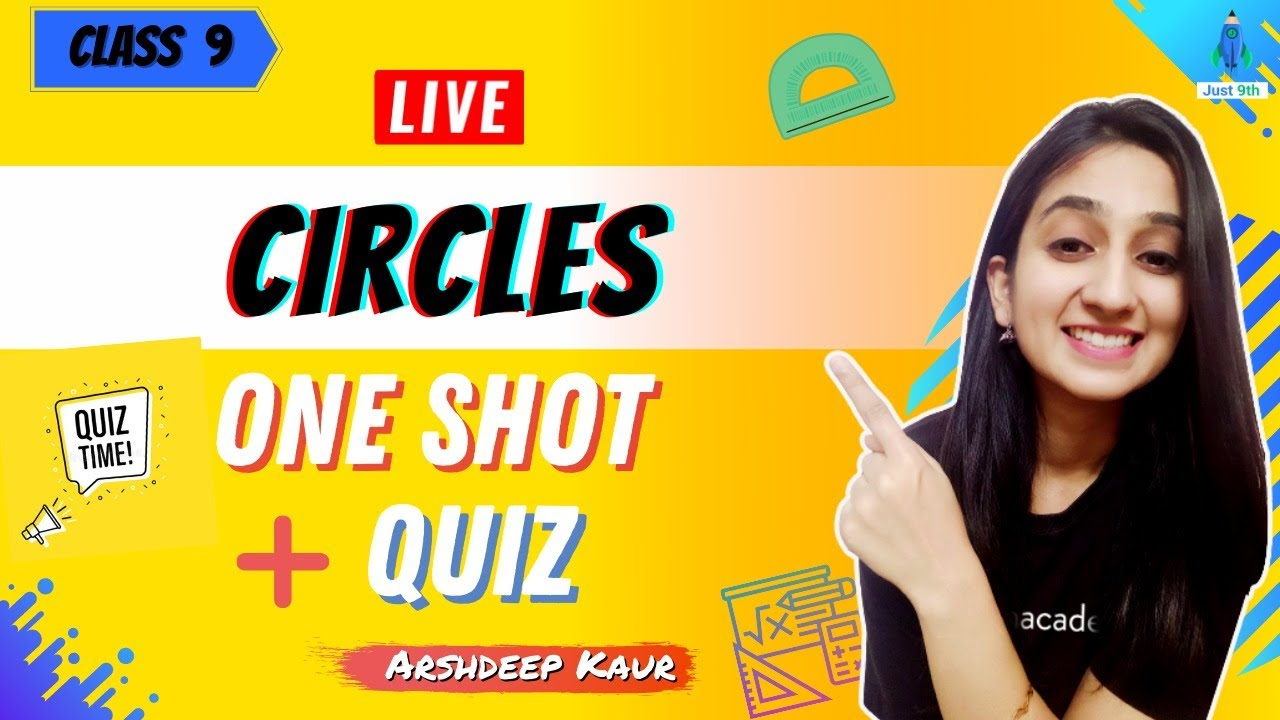 Download CBSE Class 9: Circles One Shot with Live Quiz   Udaan   Just 9th   Arshdeep Kaur