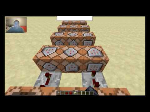 Minecraft 1.11 Command Blocks: Teleport Pads with animation