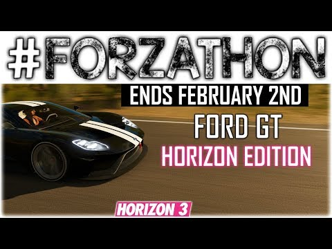 Forzathon Ends February Nd Ford Gt Horizon Edition Challenges How To Complete Them Forza