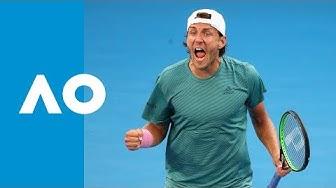 Borna Coric v Lucas Pouille match highlights (4R) | Australian Open 2019