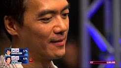 John Juanda Being a LuckBox at the EPT 12 Barcelona Final Table | PokerStars