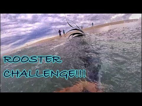 ROOSTER-FISH CHALLENGE!!! SURFFISHING FOR ROOSTER-FISH IN CABO! EPIC MORNING!