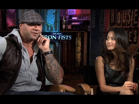 Jamie Chung and Dave Bautista Interview - The Man with the Iron Fists (JoBlo.com)