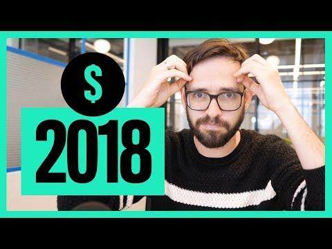 Freelance Designer Income Report 2018