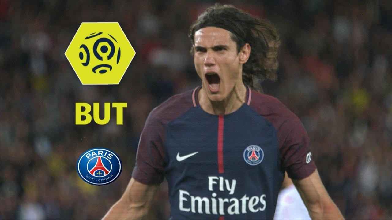 But Edinson CAVANI 75 pen Paris Saint Germain Toulouse FC