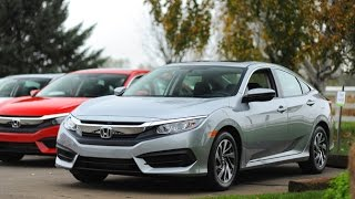 2016 Honda Civic Review - First Drive