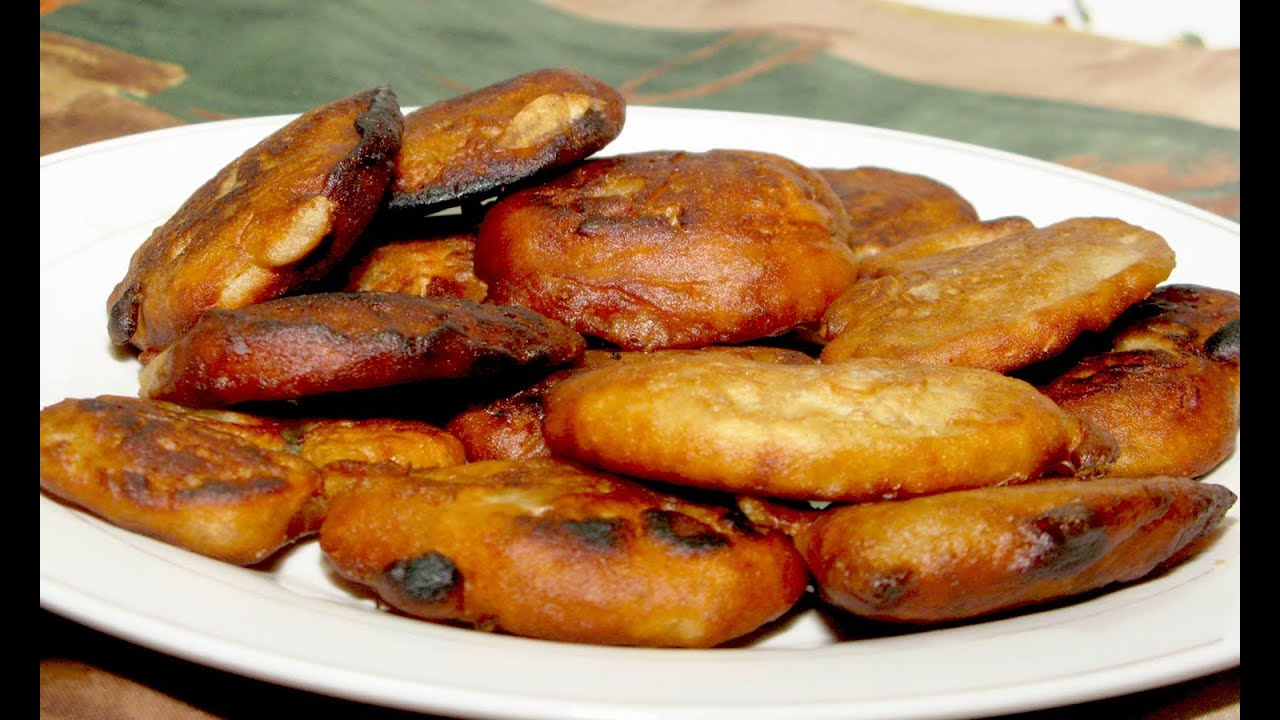 how to make banana fritters without flour