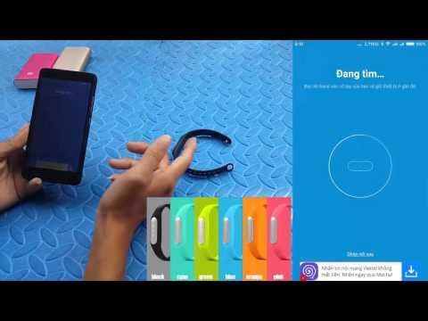 Hướng dẫn chi tiết sử dụng Mi Band của Xiaomi