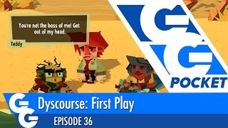 Dyscourse Part One - GG Pocket - EP36