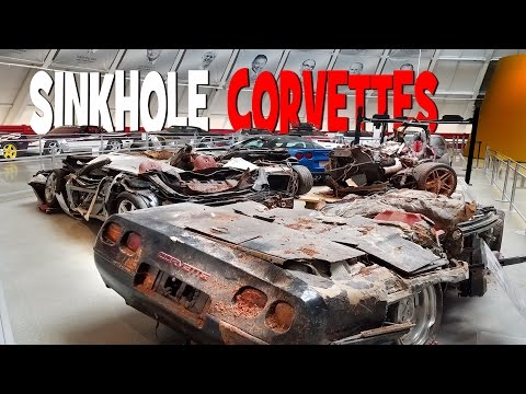 Destroyed in the Corvette Museum