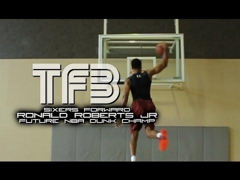 Ronald Roberts JR | Future NBA Dunk Champion | Crazy Dunk Session
