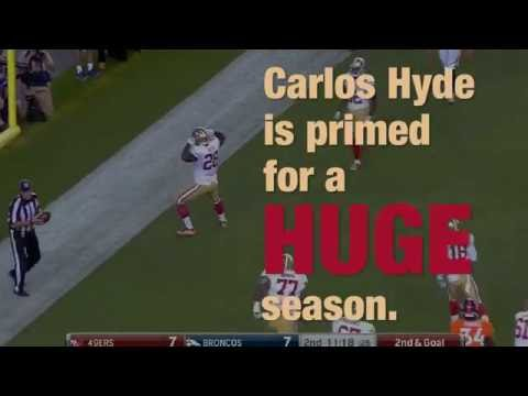 Carlos Hyde ready for breakout year