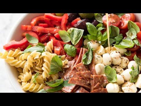 Italian Pasta Salad with Homemade Italian Dressing