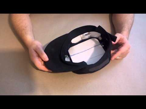Solar Powered Cell Phone Charging Hat Prototype 3