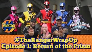 Power Rangers Ninja Steel Episode 1: Return of The Prism   Ranger Wrap Up Live