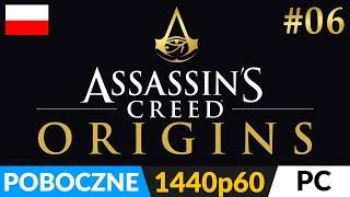 ASSASSIN'S CREED ORIGINS PL 🏺 odc.6 (#6 poboczne - live) 🔔 Siwa: Misje i eksploracja na 100%