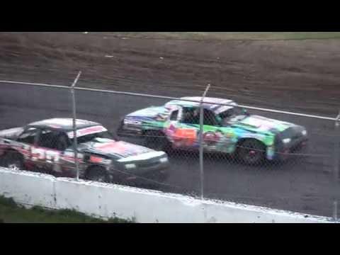 IMCA Hobby Stock feature Benton County Speedway 7/31/16