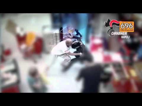 Rapina a Castello di Cisterna, il video choc della morte di Anatolij