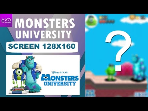 Download Monsters University java game screen resolution 128x160