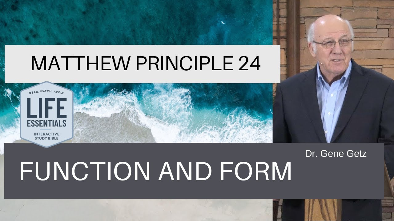 Download Matthew Principle 24: Function and Form