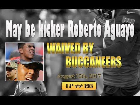 Kicker Roberto Aguayo waived by Buccaneers