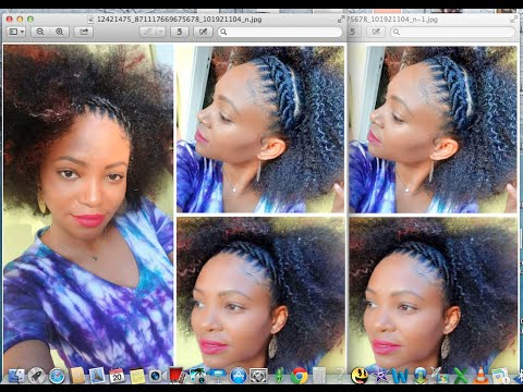 Cornrows Art / How to style your Crochet Braids