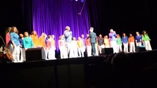 """""""Pas de boogie woogie"""" (Eddy Mitchell), interprétée en concert par Tonalités le 29 mars 2015"""