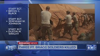 Special Forces soldiers killed in Niger were based at Fort Bragg