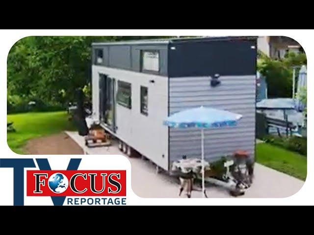 Tiny House - Der große Schritt zum kleinen Haus auf Rädern | Focus TV Reportage