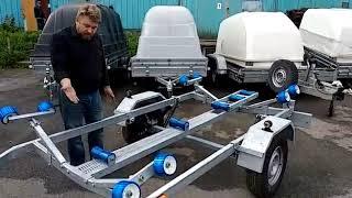 Прицеп для лодок и катеров Скиф 53 (ролики)