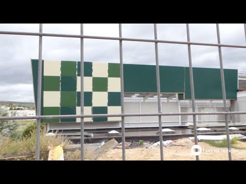 VÍDEO: La adjudicataria del Pabellón del Oeste 1 abandona los trabajos y deja deudas a empresas locales