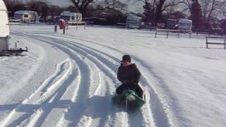 Oven Campsite Winter Crash