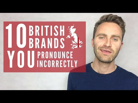 How to Say 10 Famous British Brand Names (Burberry, Jack Wills etc.) | English Lesson