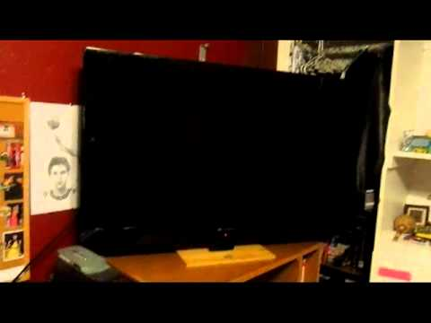 42 Inch Led Lcd Element Tv Eleft422 Youtube