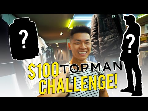 THE $100 TOPMAN OUTFIT CHALLENGE (Fall Edition)