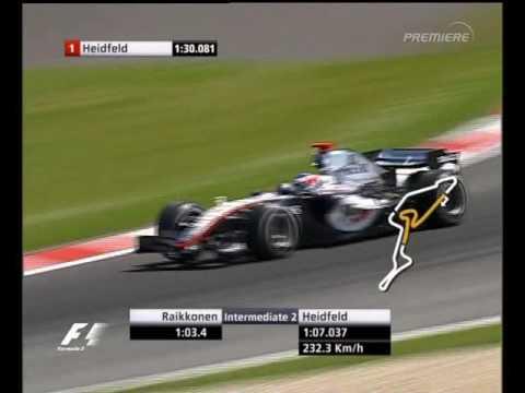 F1 European Grand Prix Nurburgring 2005 - Qualifying - Kimi Raikkonen Lap