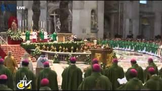 credo in unum deum - closing mass of the synod of bishops - 28.10.2012 (2)