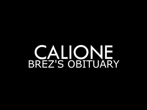Calione - Brez's Obituary