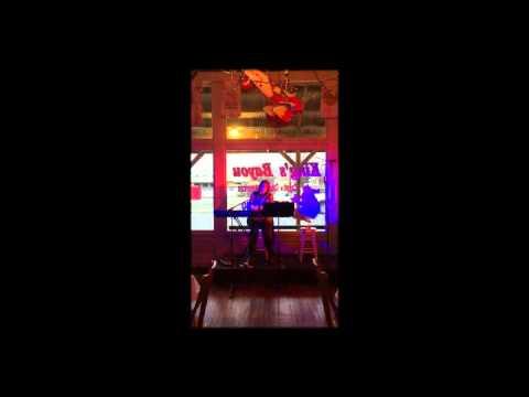 Rachel McDowell performing at King's Bayou