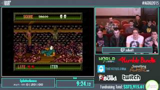 Awesome Games Done Quick 2015 - Part 80 - Splatterhouse by zallard1