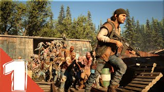 Days Gone Gameplay Walkthrough Part 1 Demo E3 2016  [1080p HD] (PS4)