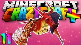 "Minecraft Mods Crazy Craft PLUS Speed Run ""Chaos Dimension!"" Modded Survival #11 w/Lachlan"