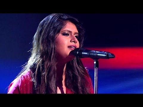 The Voice India - Oishwaryaa Chhatui Performance in The Live Show