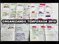 ORGANIZANDO TEMPORADA 2018