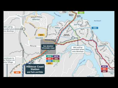 New Millwater Bus Route