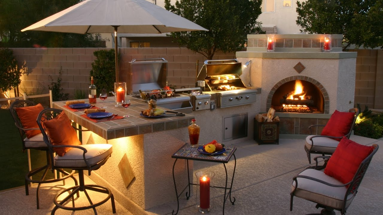 60 + Grill Outdoor Ideas 2017 - Amazing Barbecue Design and Builds ...